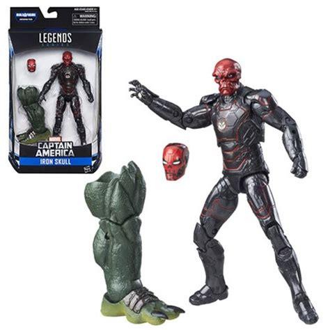 Figure Iron Captain America captain america marvel legends iron skull figure