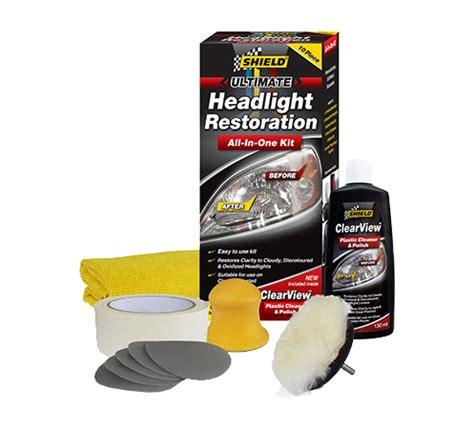 Headlight Restoration Kit by Headlight Restoration Kit Shield Chemicals