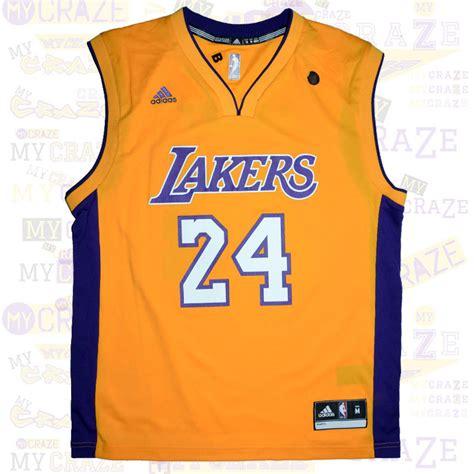 Jersey Basketball Lakers Original la los angeles lakers 24 bryant nba basketball adidas