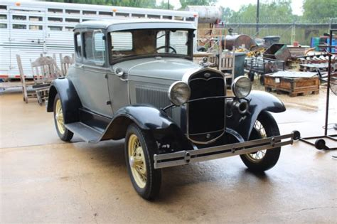 Car Lawyer Ny 1 by 1931 Model A With In Seat