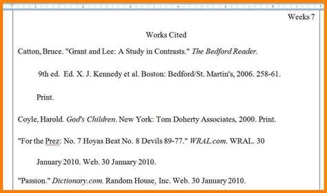 5 works cited mla exle appeal leter
