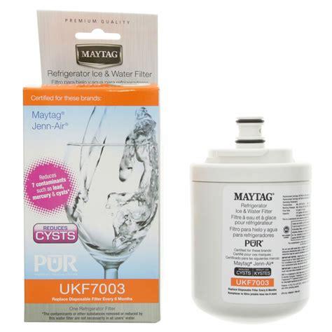 water filter for maytag door refrigerator maytag ukf7003axx puriclean refrigerator water filter