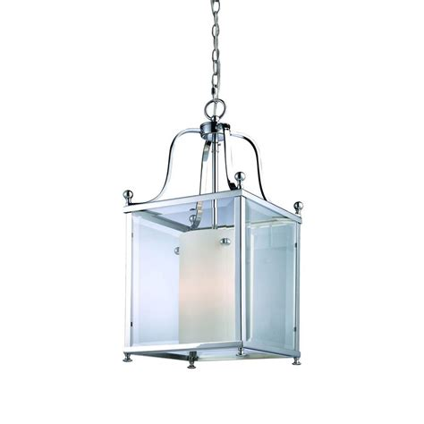 Candelabra Ceiling Light Filament Design 3 Light Chrome Candelabra Ceiling Pendant Cli Jb176 3m The Home Depot