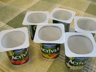 8 Uses For Yoghurt Pots by My Eco Store Recycling Innovations From Yoghurt Pot