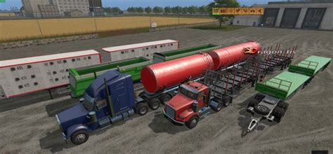 Handcrafted Ls by Custom Road Pack Rus Ls 17 Farming Simulator 2017
