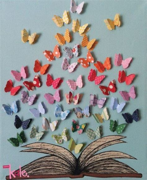 libro it was snowing butterflies mariposas de papel bricolaje10 com
