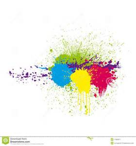 color splatter color ink splatter royalty free stock photography image