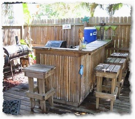 tiki bar stools australia 16 smart and delightful outdoor bar ideas to try pallets