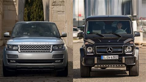 mercedes land rover white 2016 land rover range rover vs 2016 mercedes benz g class