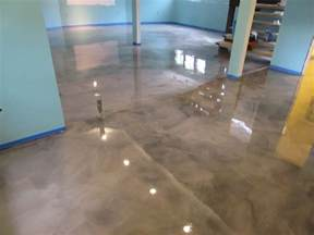 epoxy basement floor transformation