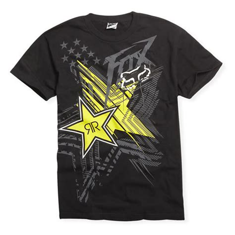 fox motocross shirts fox racing rockstar energy showcase t shirt motocross ebay