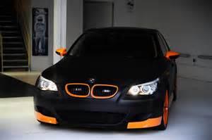 bmw e60 m5 black orange cleantuning cleantuning