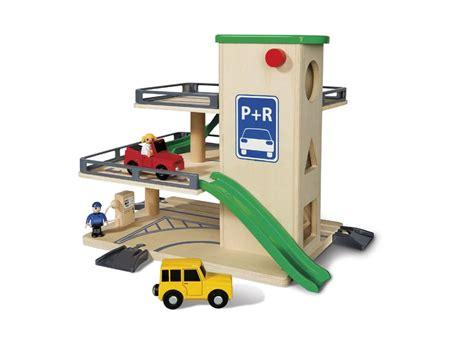 junior woodwork set playtive junior wooden port parking garage or airport set