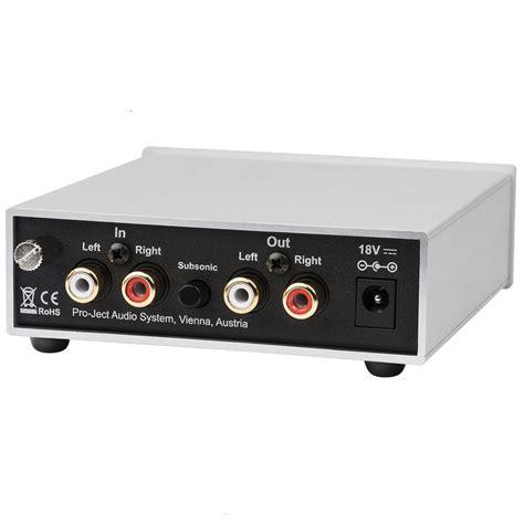 phono eingang mm pro ject phono box s2 mm mc phono vorverst 228 rker schwarz