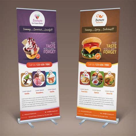 banner design ideas bestaste food billboard roll up banner by saptarang via
