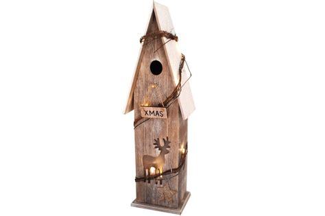Holzhaus Beleuchtet Deko by Deko Holzhaus Mit Led Beleuchtung 52 Cm Weihnachten