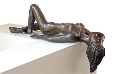 reclining girl reclining girl eva ermer sculptor