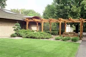 Entry Pergola by Minnesota Landscape Design Company Niwa Design Studio