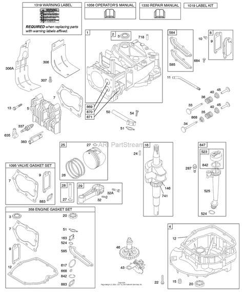 briggs and stratton 158cc carburetor diagram briggs and stratton 123k02 0185 e1 parts diagram for