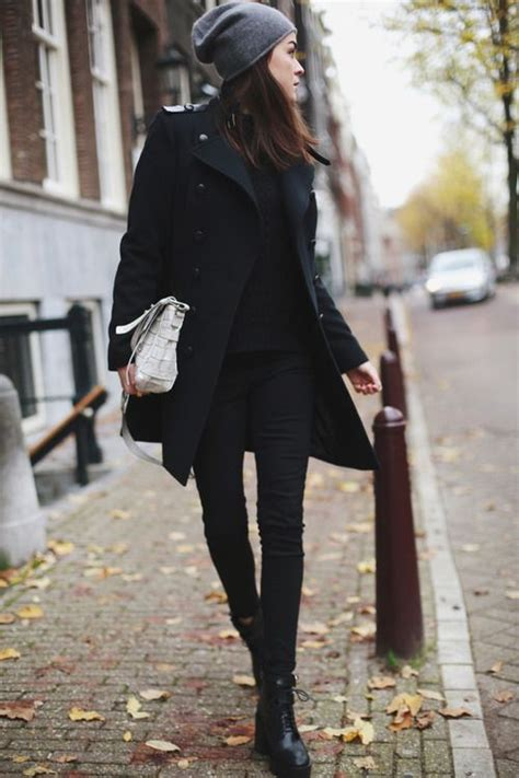 black coats  ladies  fashiongumcom
