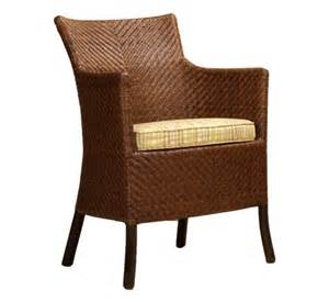 Indoor Wicker Dining Chairs Mendocino Dining Arm Chair Dining Chairs Style Indoor Furniture The Wicker Works