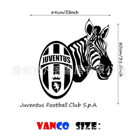 Sticker Logo Juventus Bl05 popular football zebras buy cheap football zebras lots from china football zebras suppliers on