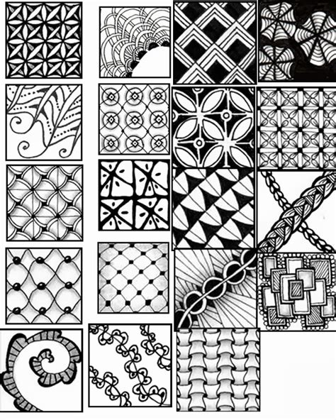 pattern drawing sheet the gallery for gt zentangle pattern sheet