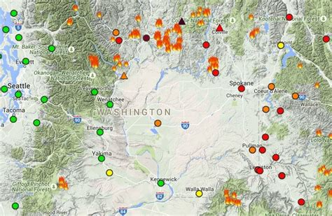 seattle air quality map worried about wildfire smoke here s how to track air
