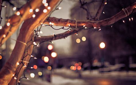 christmas lights and snow tumblr ls ideas