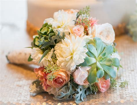Wedding Bouquet Succulents by Luxury Wedding With A Touch Of Botanical Charm The