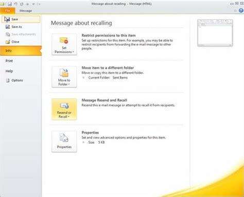 how to your recall how to resend or recall your outlook 2010 message 14 essential microsoft outlook
