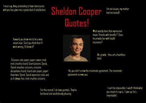 sheldon quotes quotesgram