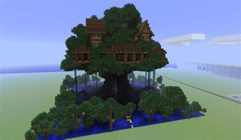 tree house designs minecraft oo i saw gavin s court as more temporary but i do really like this perhaps the