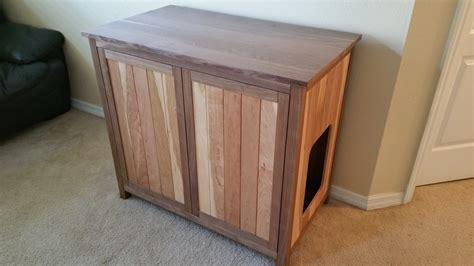 litter box cabinet solid walnut and cherry wood cat litter box cabinet w drawer furniture scratchers