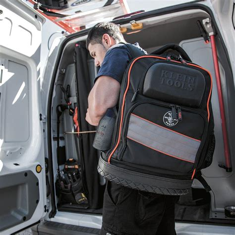 tool and laptop backpack klein 55456bpl tradesman pro organizer tech laptop