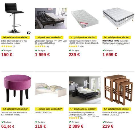 Offre Meuble Gratuit by Auchan 1 Achet 233 1 Gratuit Sur Une S 233 Lection Au Rayon