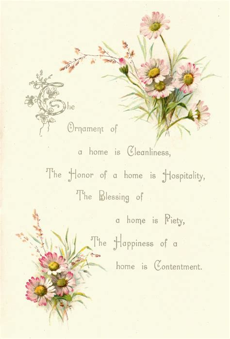 Flower Poem Wedding by Antique Images Free Flower Graphic Vintage Pink
