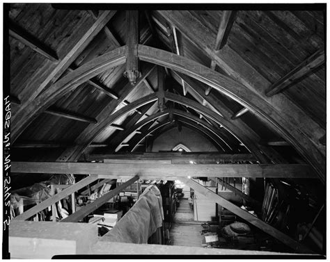 Tompkins County Court Records File Attic View Of Roof Truss Second Tompkins County