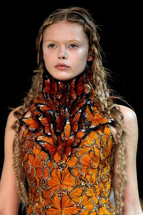 Mcqueen Butterfly Gown by Sesh N Oh Mcqueen