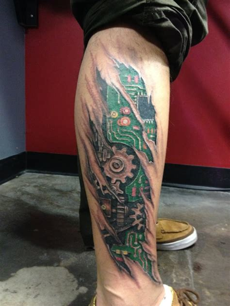 bionic tattoo designs 28 bionic designs 3d tattoos biomechanical