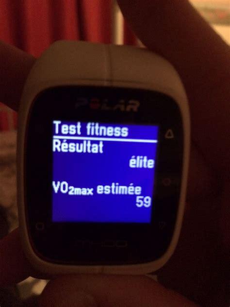 polar fitness test polar test fitness carnets nordiques