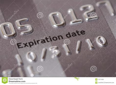 Sle Credit Card Number With Expiration Date credit card expiration date up stock photos image