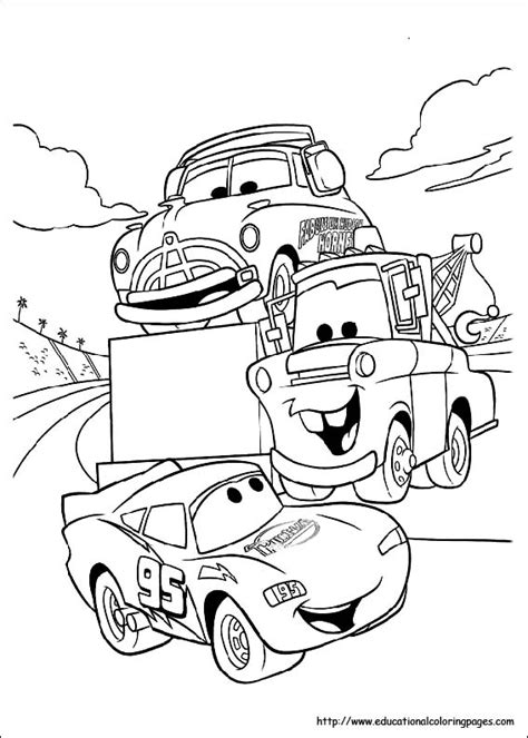 coloring pages  kids disney cars coloring pages