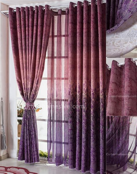 Favorable Dark Purple Buy Discount Curtains Of Lavender
