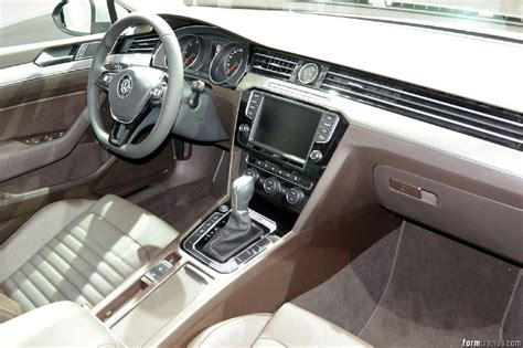 volkswagen passat 2015 interior vw design director klaus bischoff on the new passat