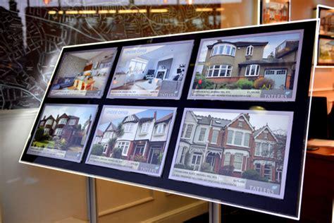 free window card templates estate agents highly custom display design at tatlers estate