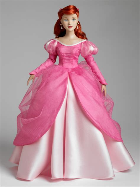 pattern for ariel s pink dress disney showcase collection tonner doll company