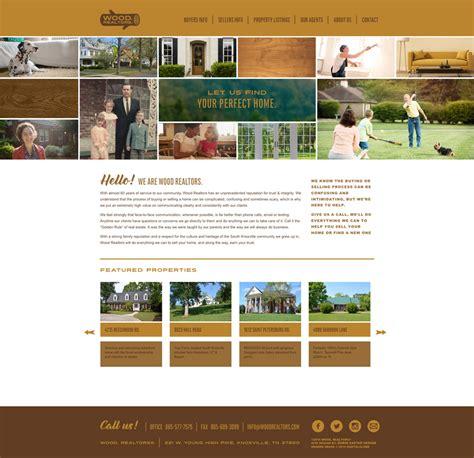 woodwork websites wood realtors robin easter design