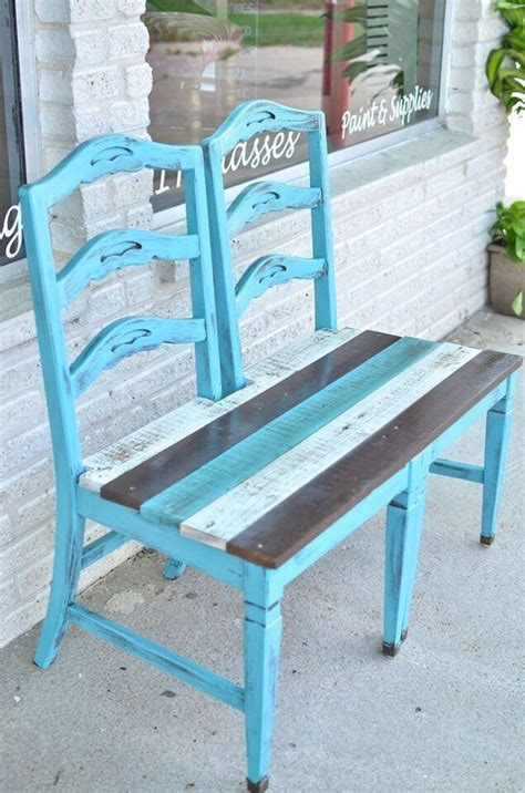 bench made from old chairs 24 best repurposed old chair ideas and designs for 2018