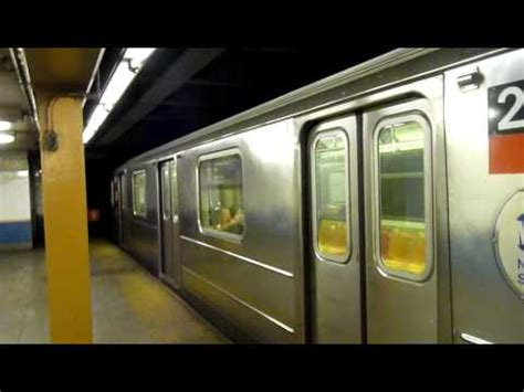 ferry bound video south ferry bound r62a 1 train at houston street youtube
